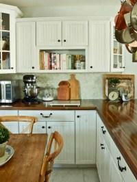 18 DIY Designs to Build Wooden Countertops