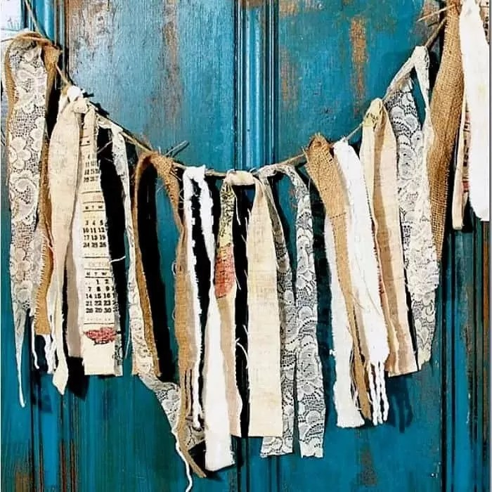 Burlap Garland 18 DIY Ideas  Guide Patterns