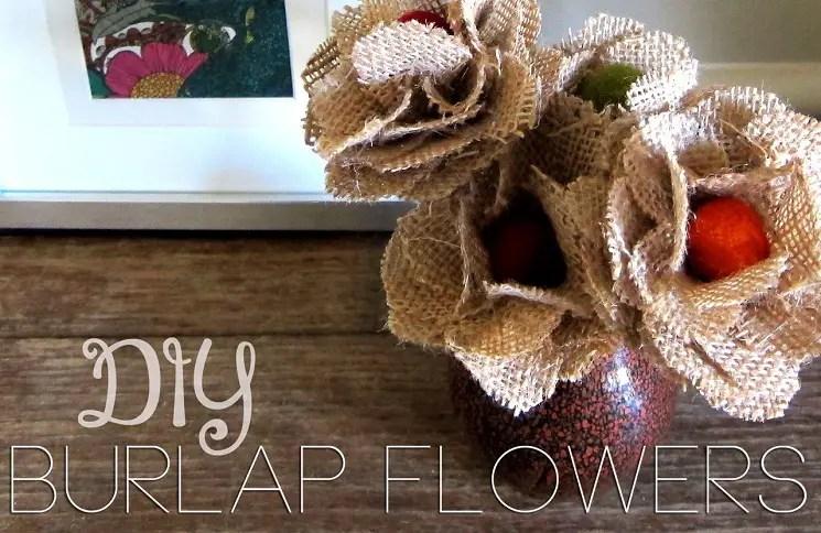 diy living room decor apartment burlap flowers: 15 interesting how-tos | guide patterns