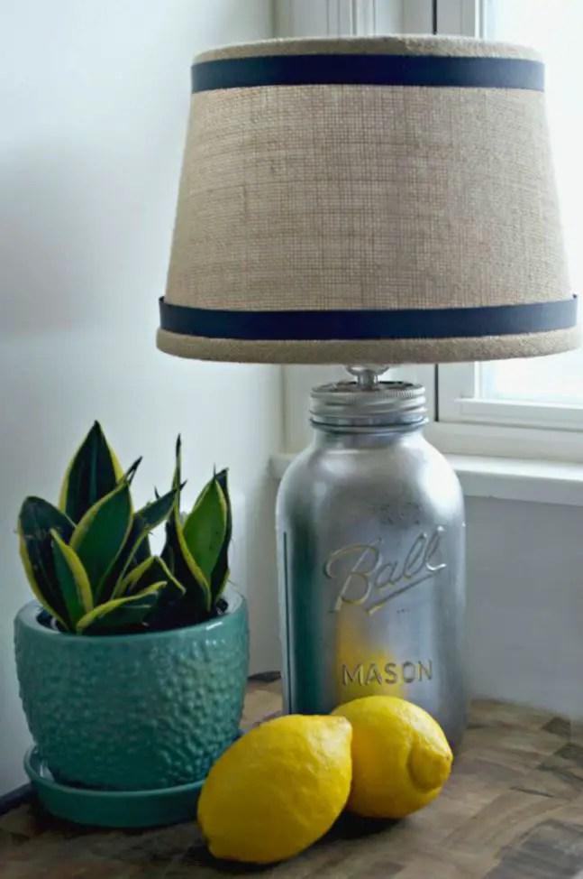 20 Fascinating Ways to Make a Mason Jar Lamp  Guide Patterns