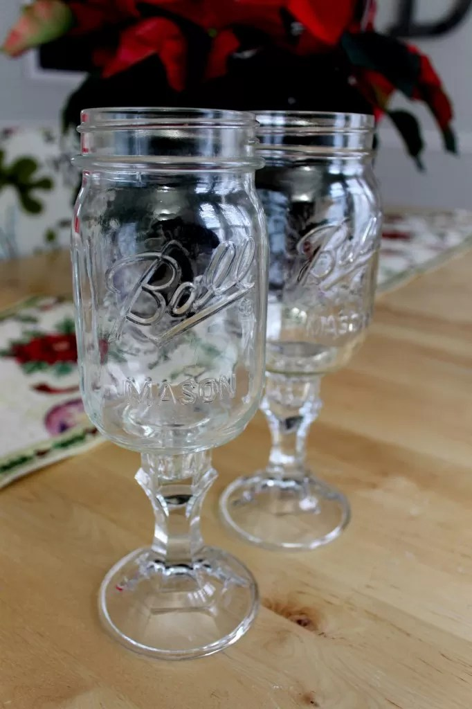 vintage kitchen table restaining cabinets 12 intriguing ways to make a mason jar wine glass | guide ...