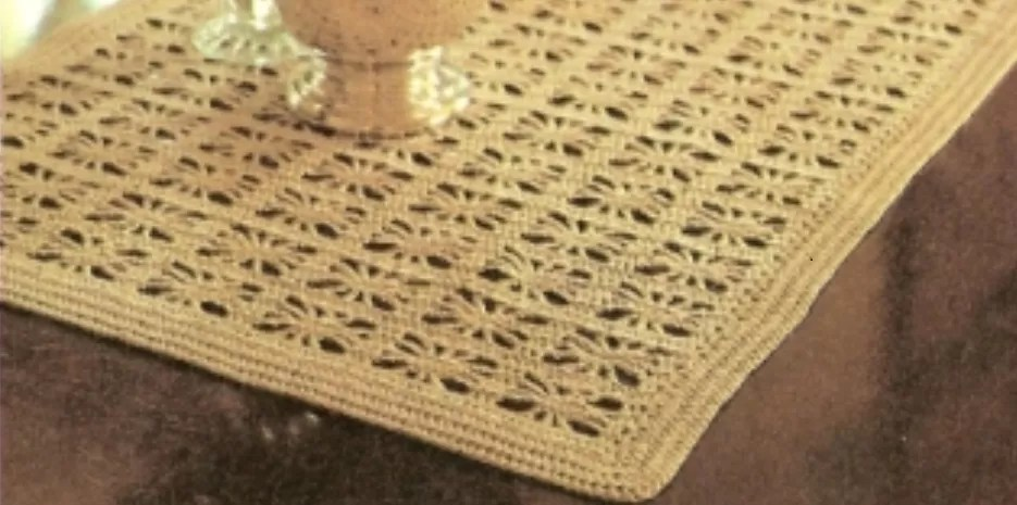 crochet doily patterns with diagram ongaro wiper motor wiring 32 free table runner guide crocheted
