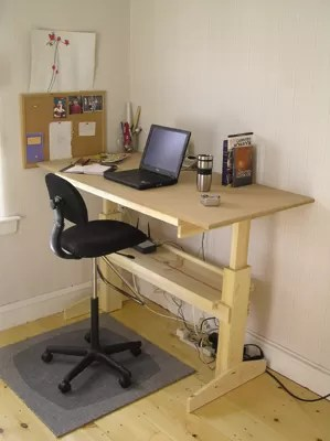 sitting posture on chair in office reclining club adjustable sit stand desk: 9 ways to build | guide patterns