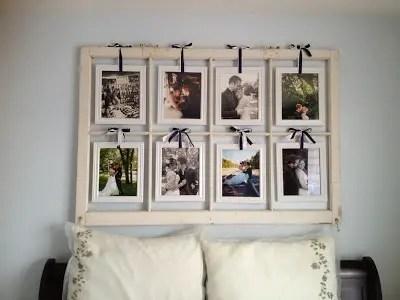 DIY Window Pane Picture Frame: 19 Ideas