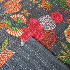 Vintage Peacock Chair Rubber Foot Pads For Chairs How To Make A Kantha Quilt: 9 Tutorials | Guide Patterns