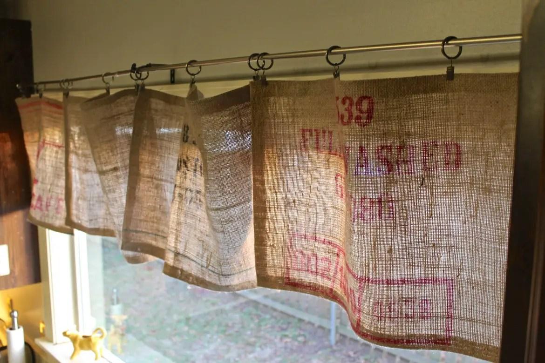 valance curtains for kitchen tiny house appliances burlap 16 unique diy patterns guide