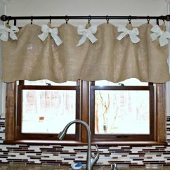 Affordable Kitchen Curtains Washable Runners Burlap Valance: 16 Unique Diy Patterns | Guide