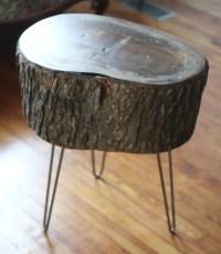 11 Tree Stump Side Table Designs