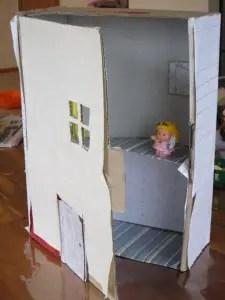 13 Cardboard Dollhouse Plans  Guide Patterns
