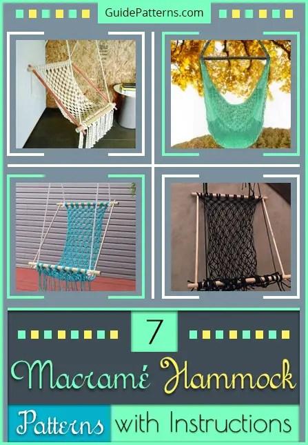 7 macramé hammock patterns