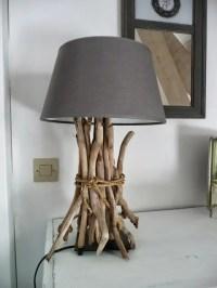 Driftwood Lamp: 11 DIYs | Guide Patterns