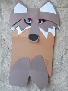 59 Paper Bag Puppets Guide Patterns