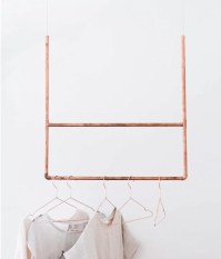 23 Pipe Clothing Rack DIY Tutorials