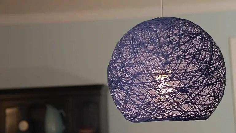 14 DIY Yarn Lanterns You Can Make  Guide Patterns