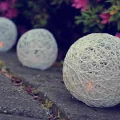 Red Living Room Set Tropical Design Ideas 14 Diy Yarn Lanterns You Can Make | Guide Patterns