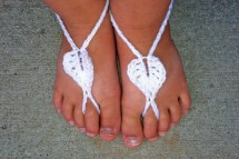Baby Barefoot Sandals Pattern-Free