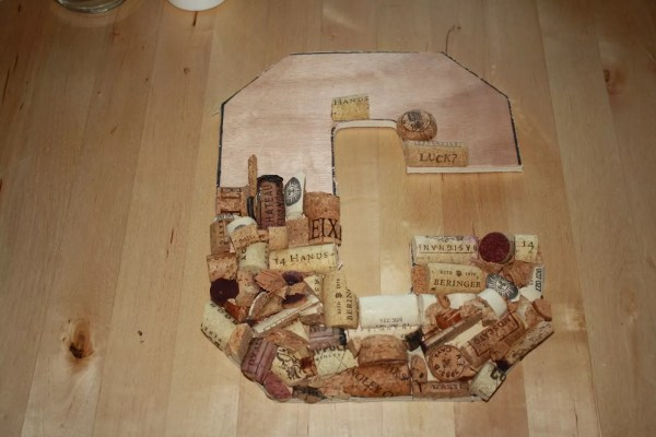 Easiest Ways Make Wine Cork Letters Guide Patterns