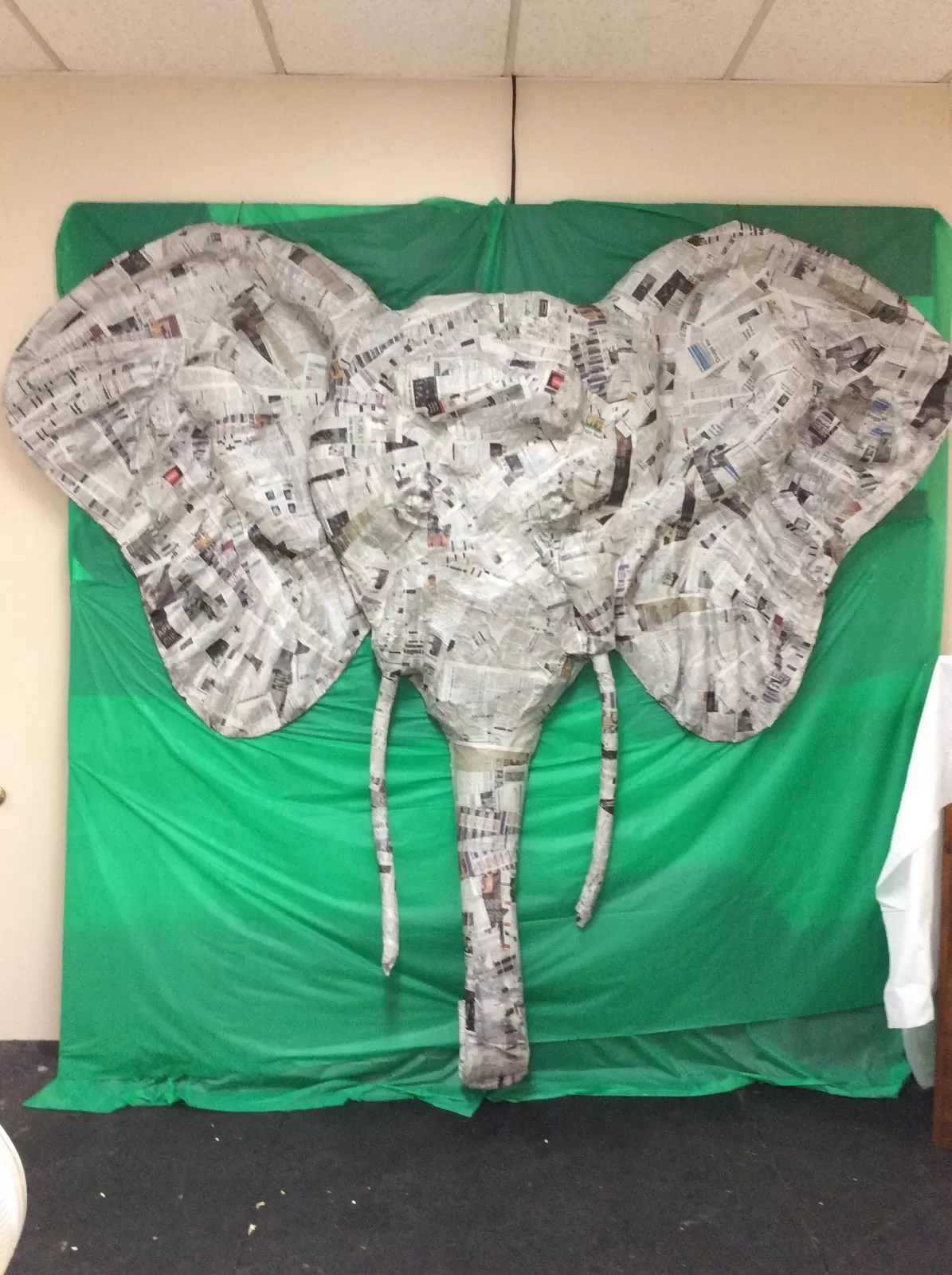 Paper Mache Elephant 12 SuperEasy DIY Ideas  Guide Patterns