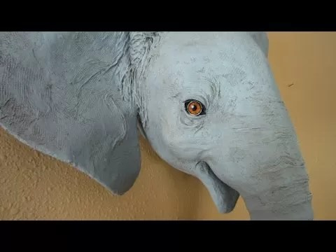 Paper Mache Elephant 12 Super Easy DIY Ideas Guide Patterns