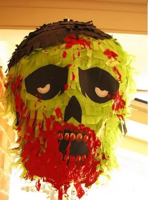 17 Easy Ways to Make a Halloween Piata  Guide Patterns