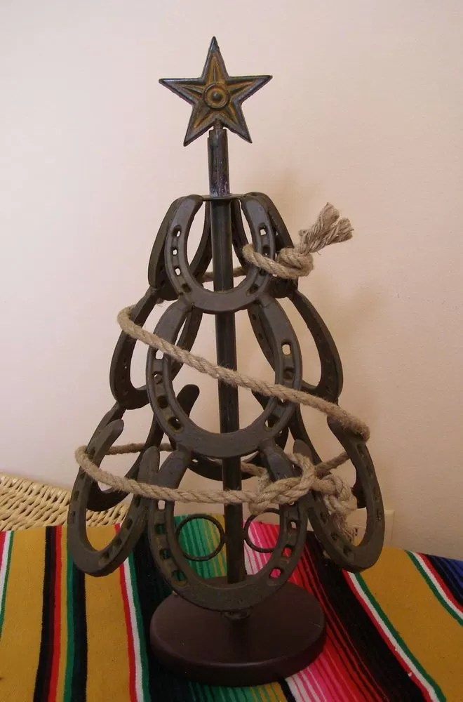 5 DIY Horseshoe Christmas Tree  Guide Patterns