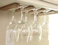 33+ DIY Wine Glass Racks