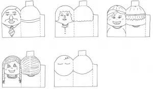 76+ DIY Finger Puppets Instruction, Printable Templates