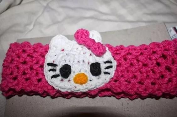Kitty applique free crochet hello pattern