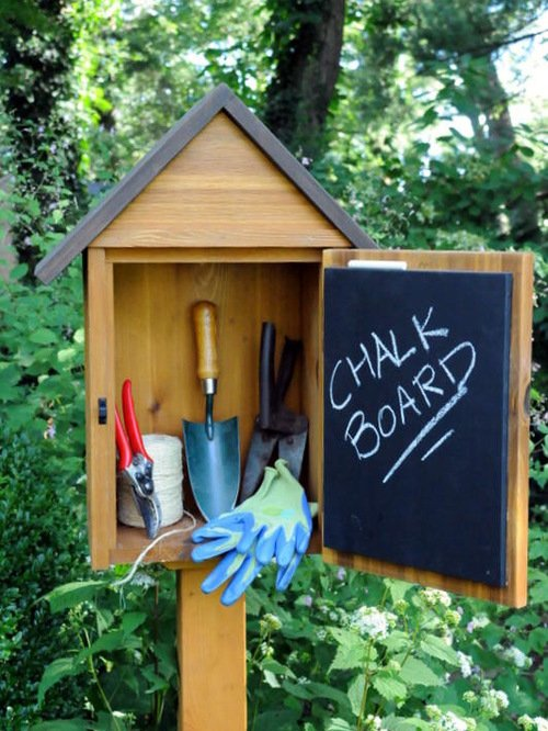 garden tool storage diy ideas