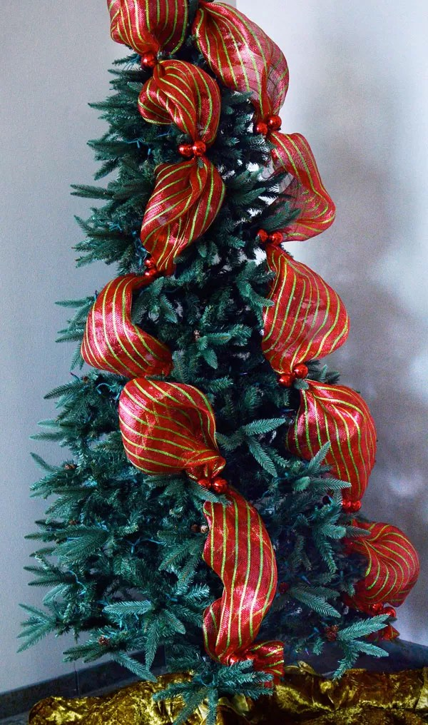 Mesh For Christmas Tree Decorating