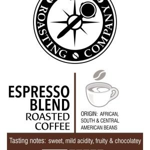 Espresso Blend – light roast