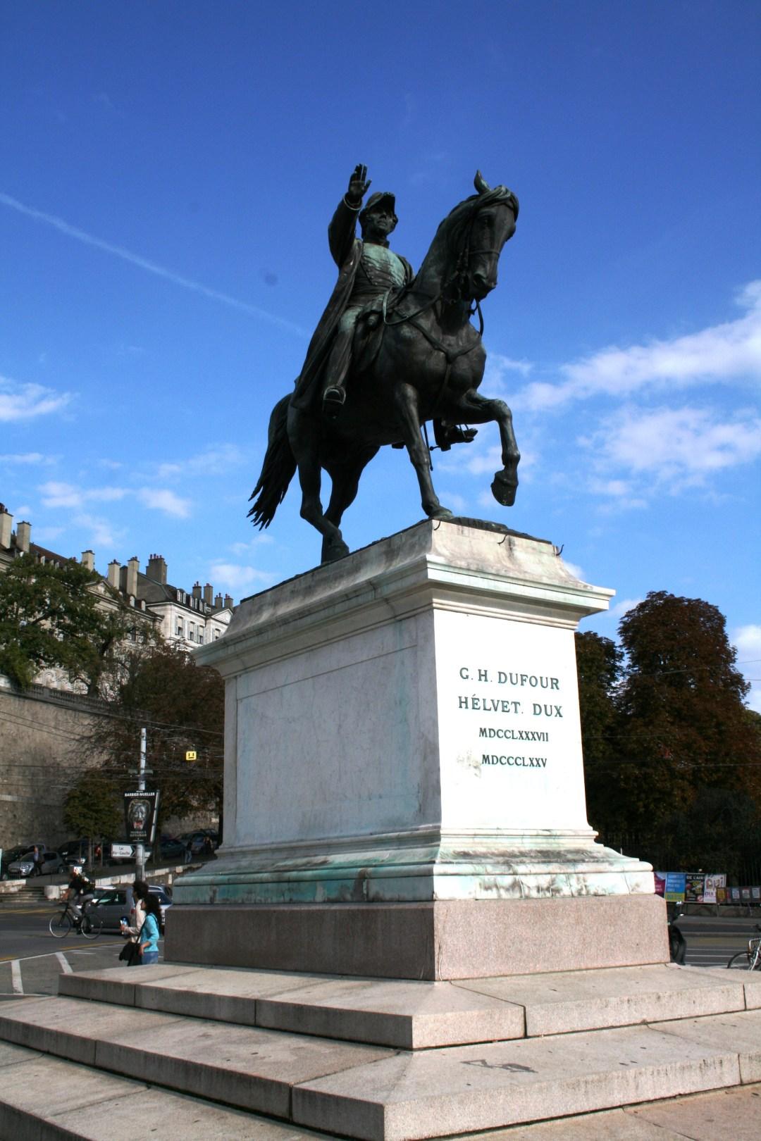 Geneva's expansion under Guillaume-Henri Dufour