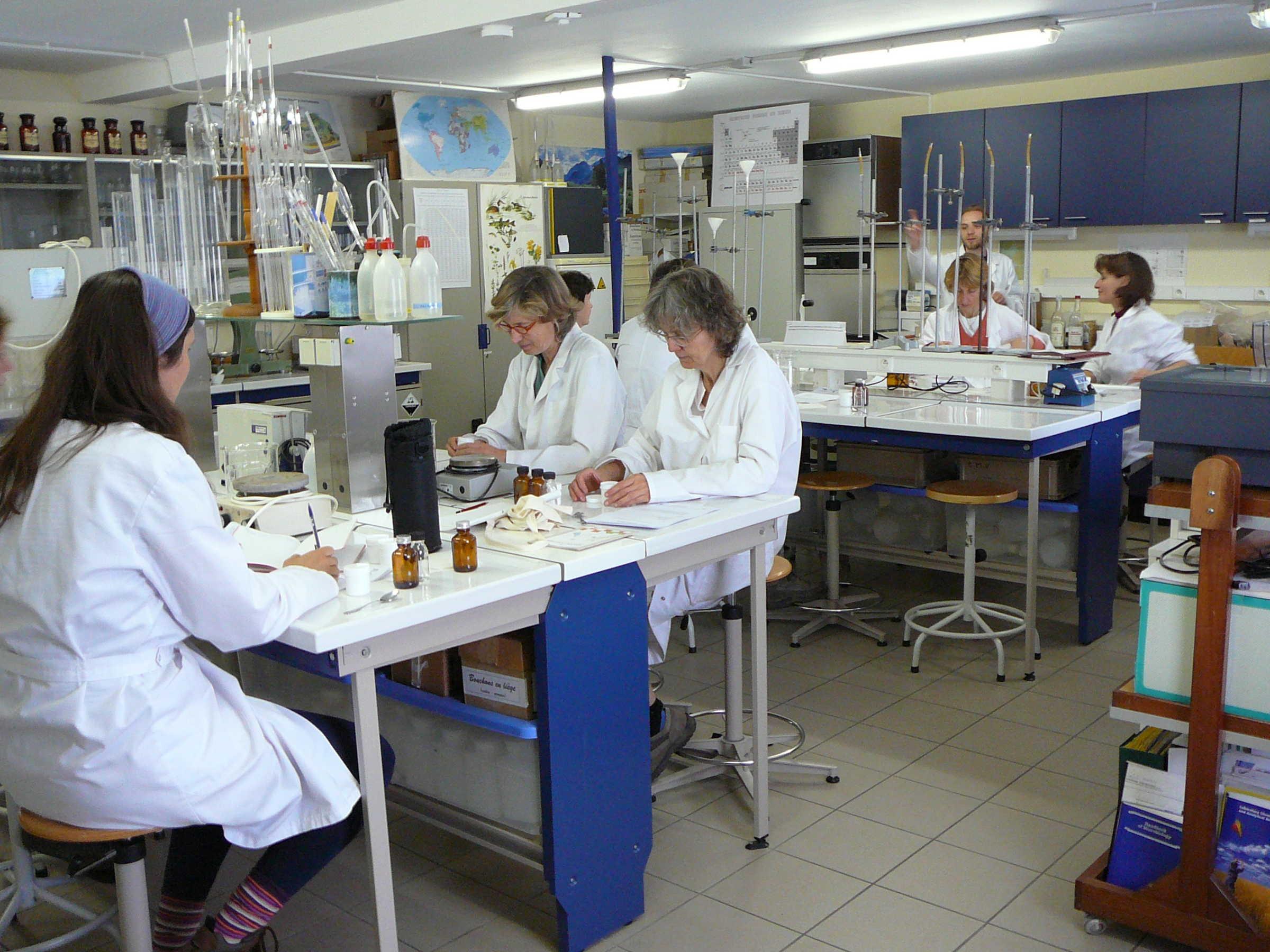 Labaratoire chimie