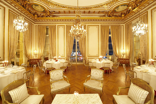 demande en mariage restaurant Paris romantique drague tte