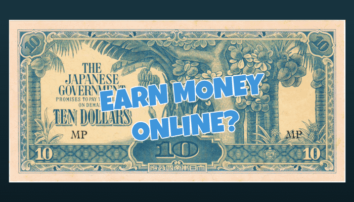 Earn Money Online Singapore