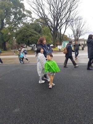 Ueno Park family