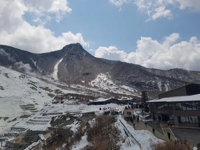 Hakone peak