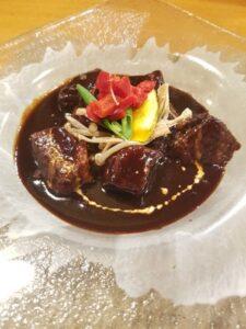 Kichi Kichi Omurice beef stew