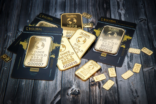 Monetization and Gold bars