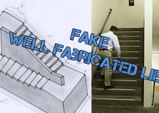 The Escherian Stairwell Hoax Endless Staircase