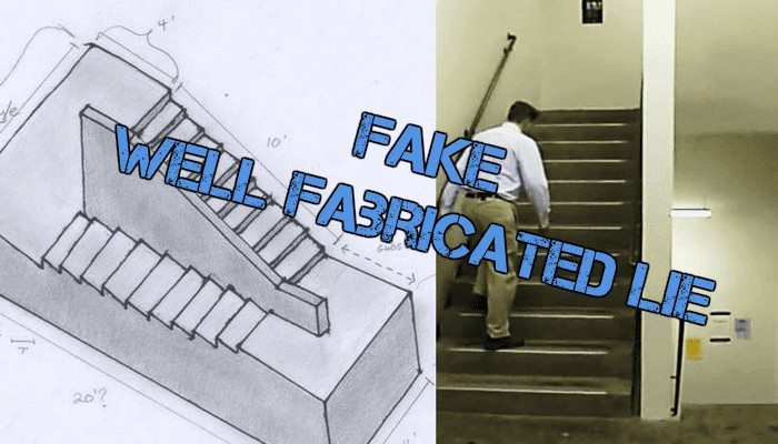 The Escherian Stairwell Hoax Endless Staircase