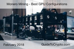 Best GPU Configurations Mining Monero XMR January 2018