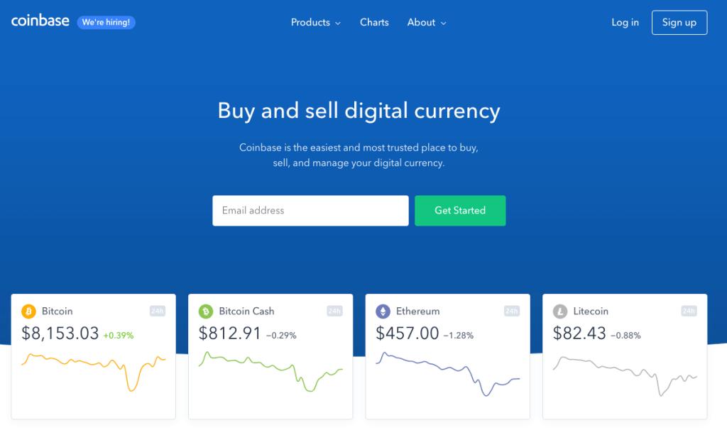 coinbase signup