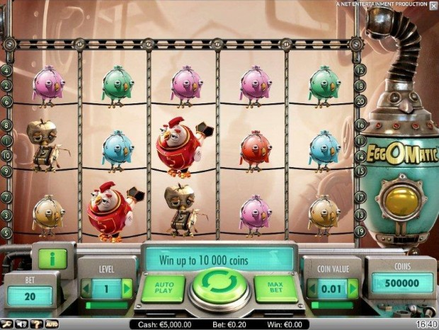 Egg-o-Matic Video Slot from NetEnt