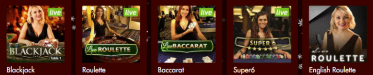 Spartan Slots Live Dealers