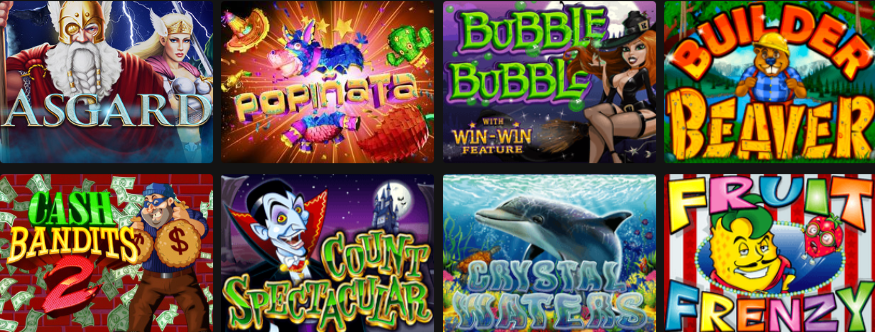 Popular Cherry Gold Casino Games