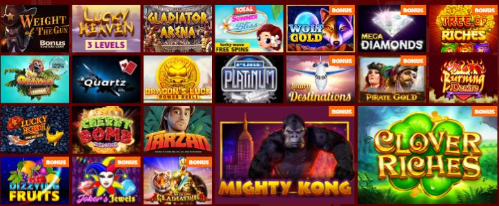 Popular Slots at GrandWild Casino