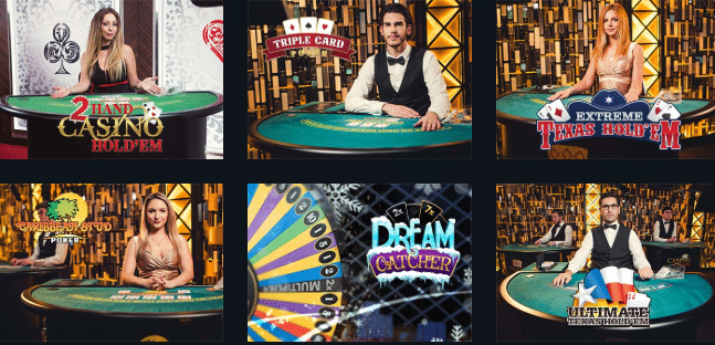 BetMate Live Dealer Casino Games