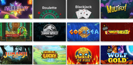 Popular Games at Clover Casino