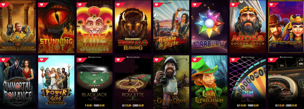 Popular Slots at LS Bet Casino
